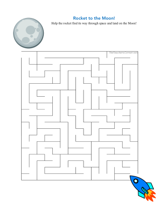 celebrate-picture-books-picture-book-review-rocket-to-the-moon-maze-puzzle