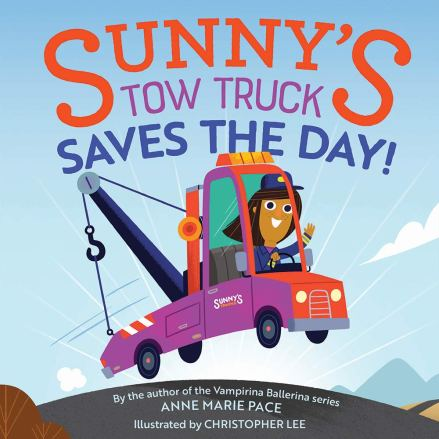 celebrate-picture-books-picture-book-review-sunny's-tow-truck-saves-the-day-cover
