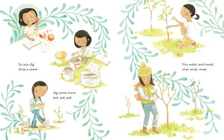 celebrate-picture-books-picture-book-review-the-amazing-idea-of-you-plant-seed