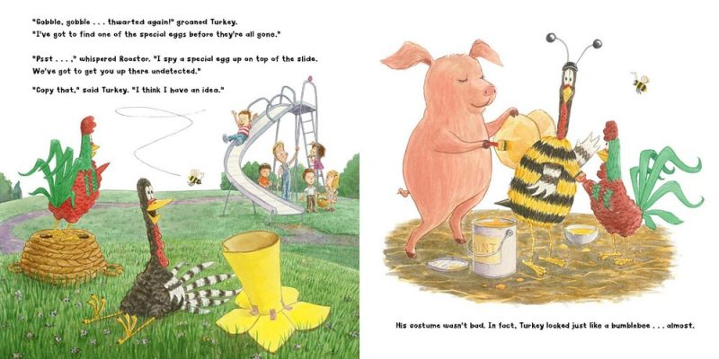 celebrate-picture-books-picture-book-review-turkey's-eggcellent-easter-bee