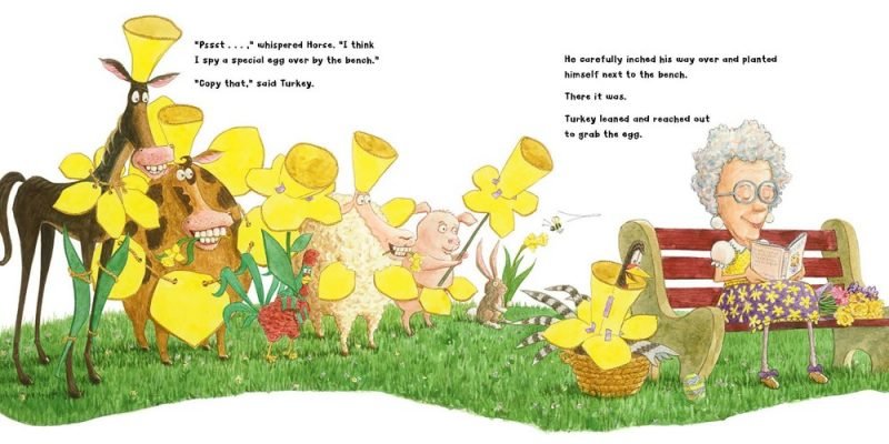 celebrate-picture-books-picture-book-review-turkey's-eggcellent-easter-flower