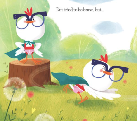 celebrate-picture-books-picture-book-review-a-little-chicken-Dot