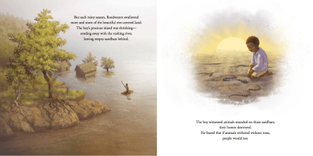 celebrate-picture-books-picture-book-review-the-boy-who-grew-a-forest-erosion