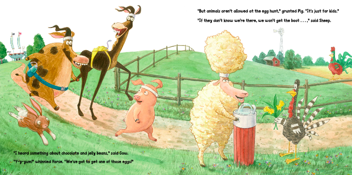celebrate-picture-books-picture-book-review-turkey's-eggcellent-easter-exercising