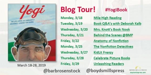 YOGI blog tour graphic