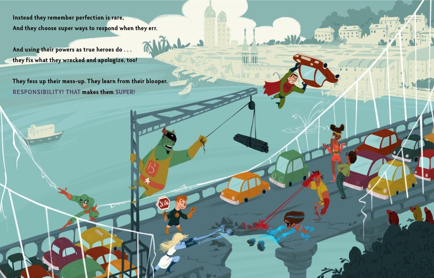 celebrate-picture-books-picture-book-review-even-superheroes-make-mistakes-bridge