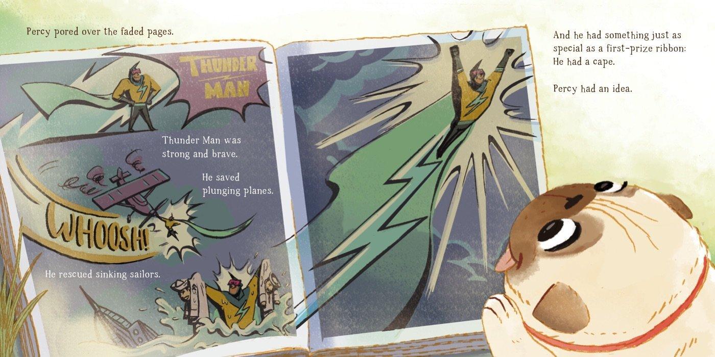 celebrate-picture-books-picture-book-review-thunder-pug-comic-book