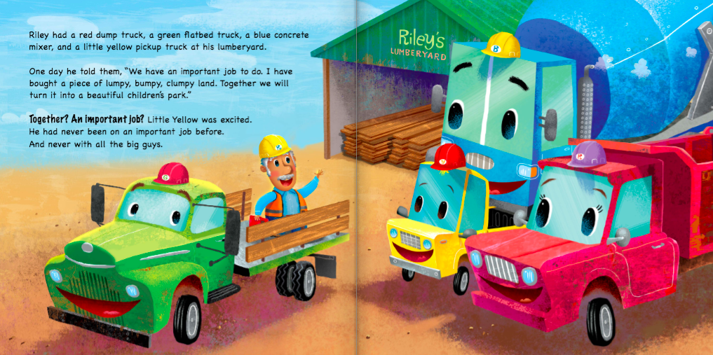 celebrate-picture-books-picture-book-review-little-yellow-truck-riley