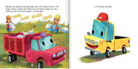 celebrate-picture-books-picture-book-review-little-yellow-truck-big-red