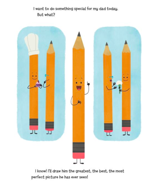 celebrate-picture-books-picture-book-review-pencil's-perfect-picture-dad