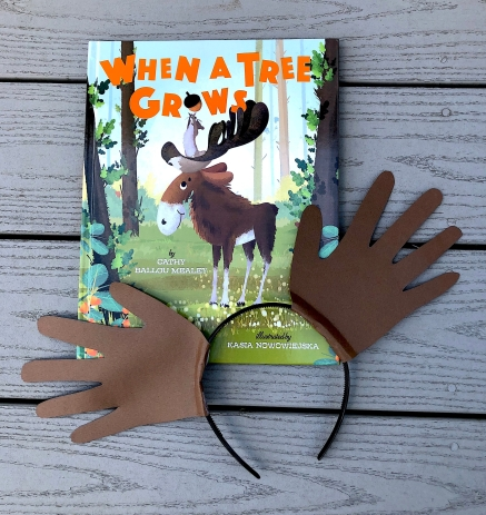 celebrate-picture-books-picture-book-review-moose-headband-craft-when-a-tree-grows