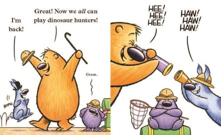 celebrate-picture-books-picture-book-review-we-are-not-friends-dinosaur-hunters