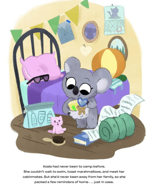 celebrate-picture-books-picture-book-review-koala-is-not-a-bear-packing