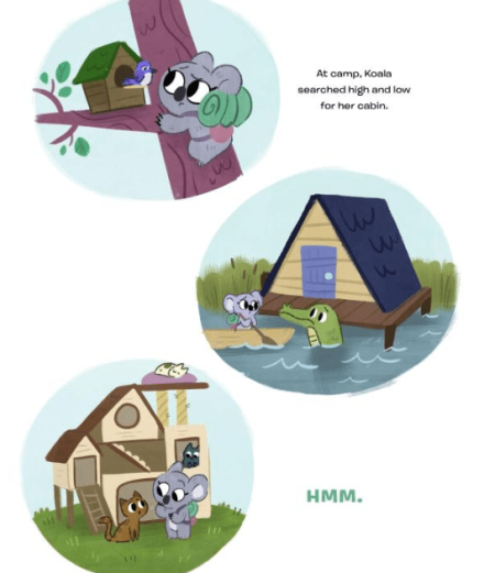 celebrate-picture-books-picture-book-review-koala-is-not-a-bear-cabins