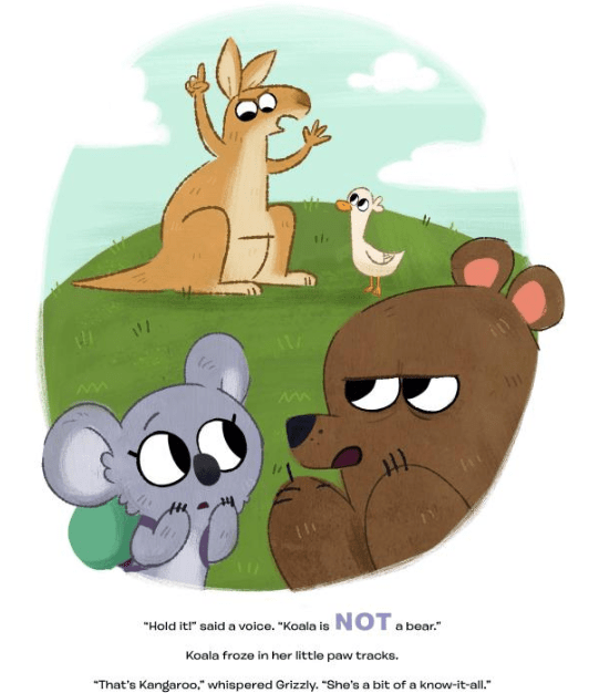 celebrate-picture-books-picture-book-review-koala-is-not-a-bear-kangaroo