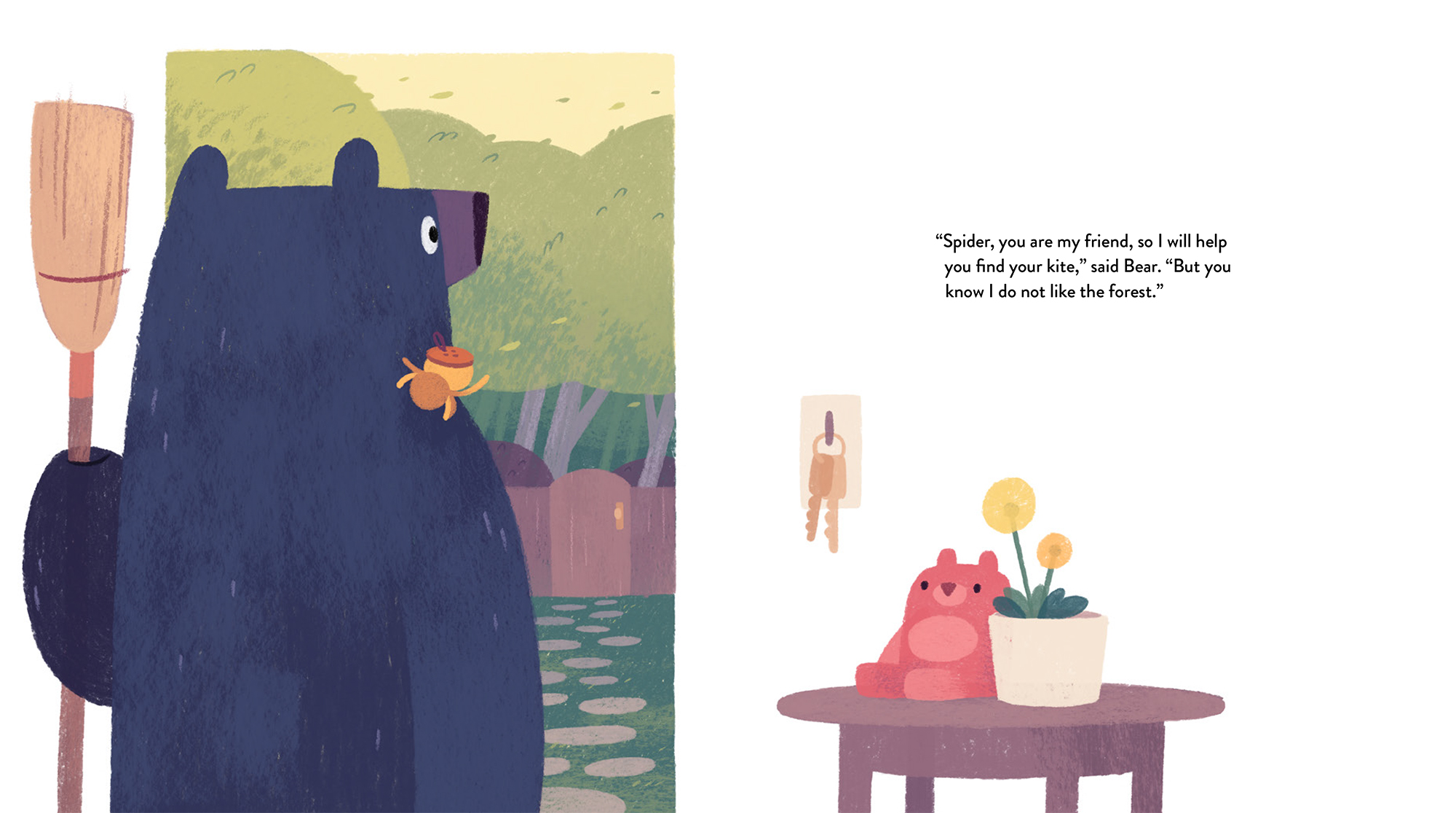 celebrate-picture-books-picture-book-review-bear-out-there-heading-out
