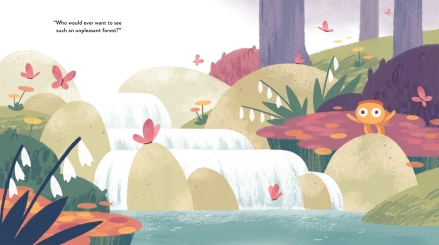 celebrate-picture-books-picture-book-review-bear-out-there-waterfall