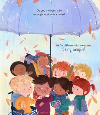 celebrate-picture-books-picture-book-review-there's-only-one-you-umbrella