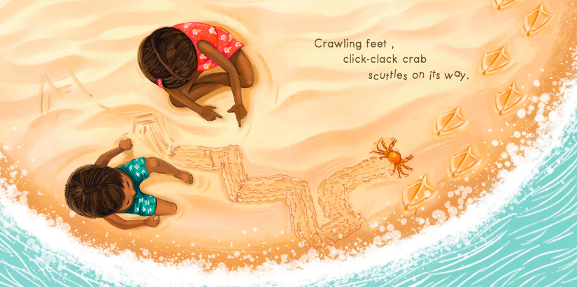 celebrate-picture-books-picture-book-review-sandy-feet-whose-feet-sand-crab