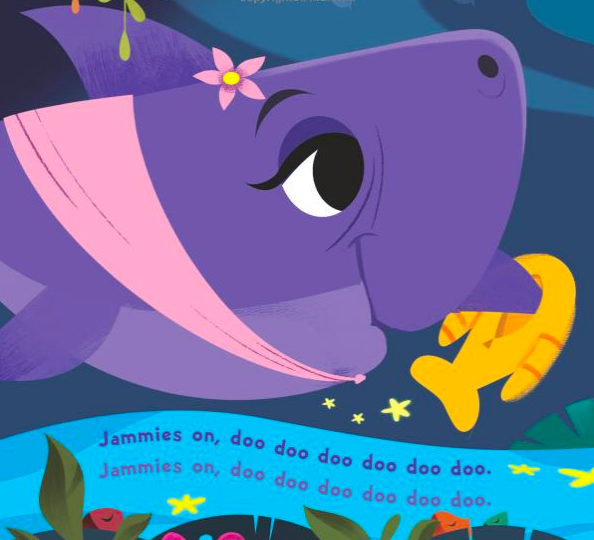 celebrate-picture-books-picture-book-review-bedtime-for-baby-shark-grandma-shark