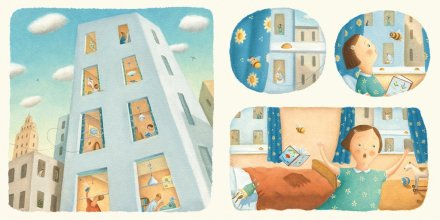 celebrate-picture-books-picture-book-review-bee-and-me-scattering-apartment