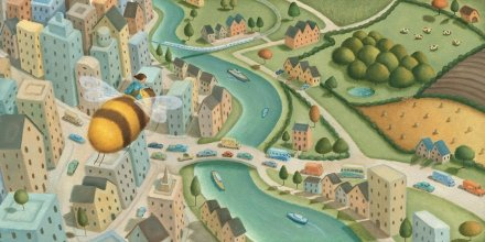 celebrate-picture-books-picture-book-review-bee-and-me-flying