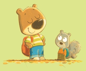 celebrate-picture-books-picture-book-review-so-big-bear-and-squirrel