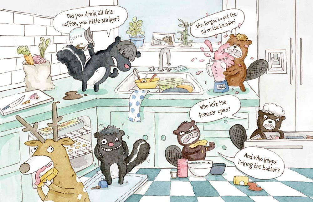 celebrate-picture-books-picture-book-review-the-great-indoors-messy-kitchen