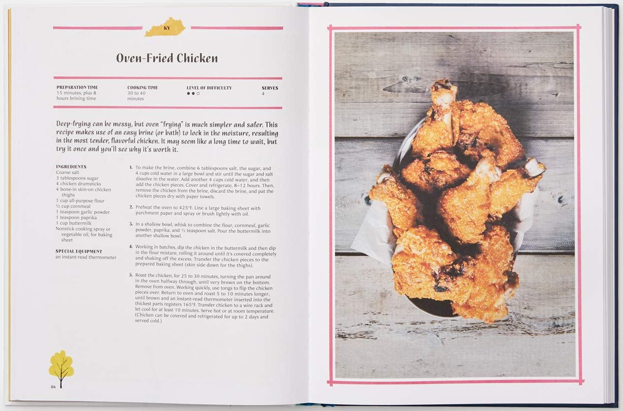 celebrate-picture-books-picture-book-review-united-tastes-of-america-Kentucky-chicken