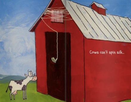 celebrate-picture-books-picture-book-review-cows-can't-spin-silk-silk