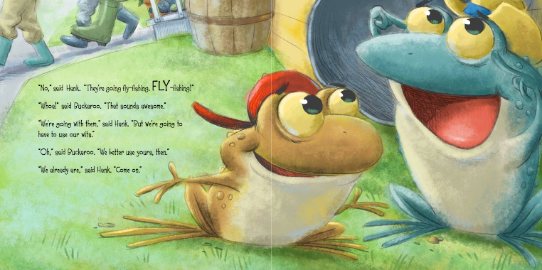 celebrate-picture-books-picture-book-review-back-roads-country-toads-fly-fishing