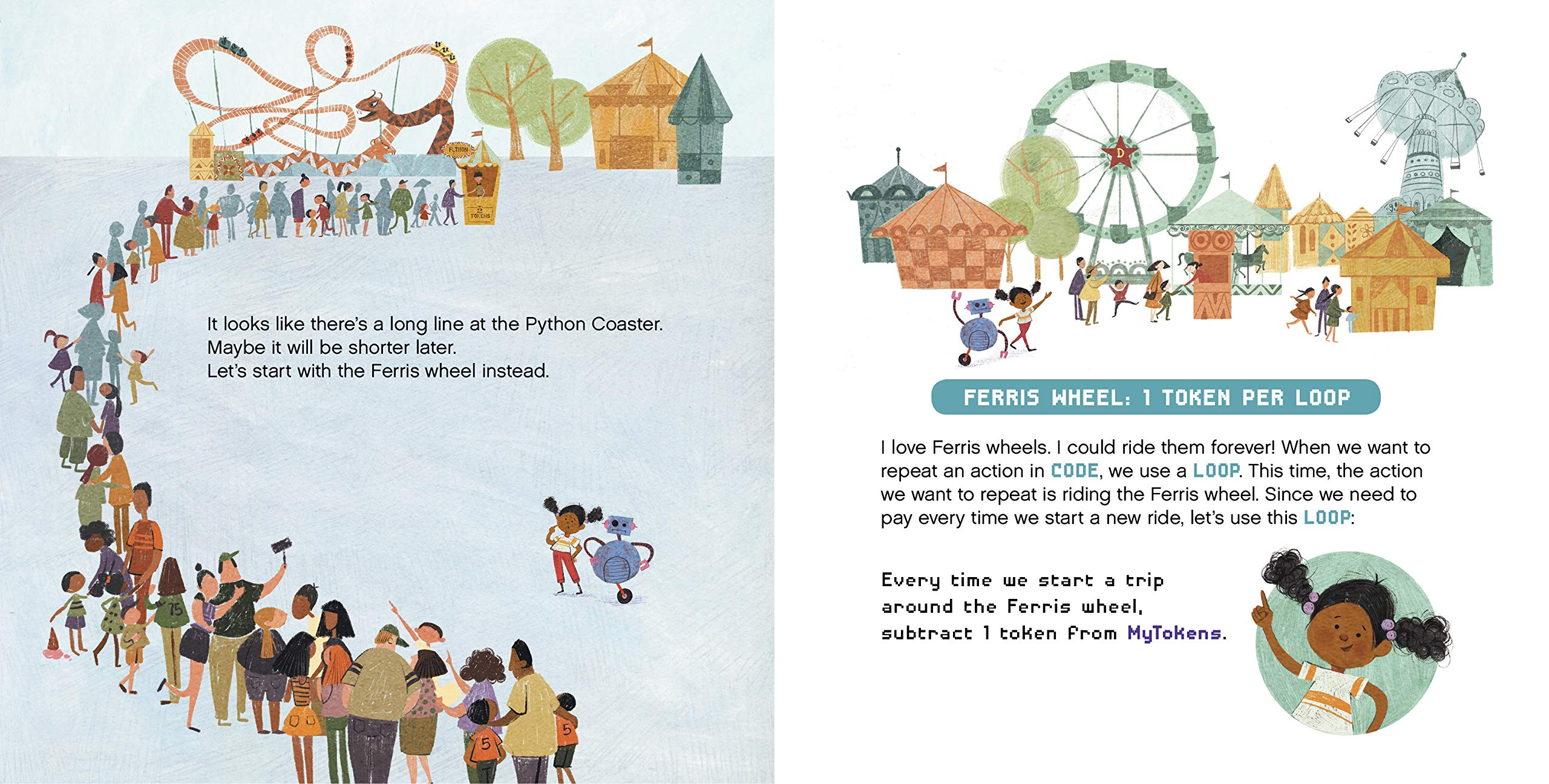 celebrate-picture-books-picture-book-review-how-to-code-a-rollercoaster-long-line