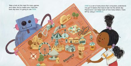 celebrate-picture-books-picture-book-review-how-to-code-a-rollercoaster-map