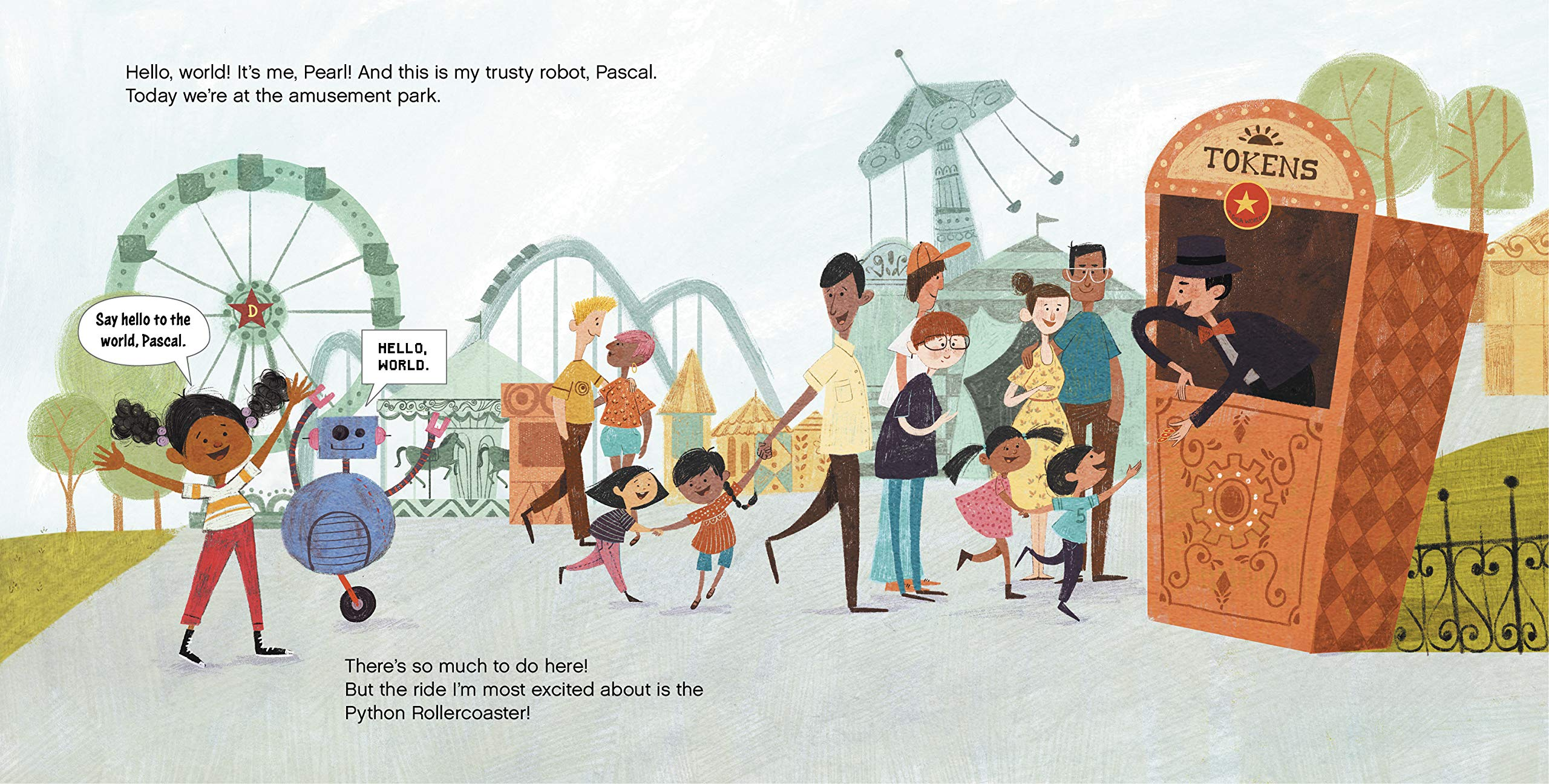 celebrate-picture-books-picture-book-review-how-to-code-a-rollercoaster-tokens