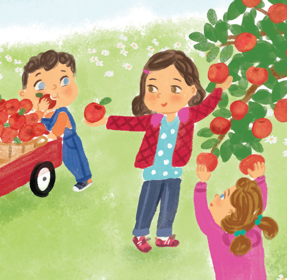 celebrate-picture-books-picture-book-review-aplesauce-day-giving-apple