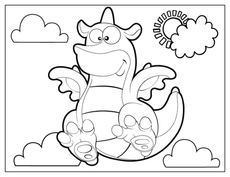 celebrate-picture-books-picture-book-review-cute-dragon-coloring-page