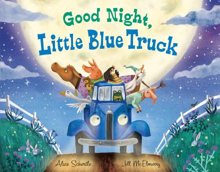 celebrate-picture-books-picture-book-review-good-night-little-blue-truck-cover