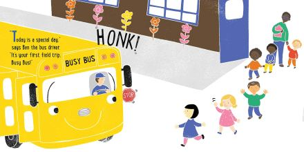 celebrate-picture-books-picture-book-review-it's-a-field-trip-busy-bus-school