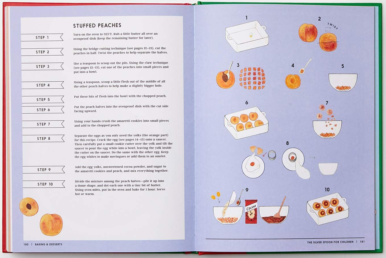 celebrate-picture-books-picture-book-review-the-silver-spoon-recipes-for-children-peaches-recipe