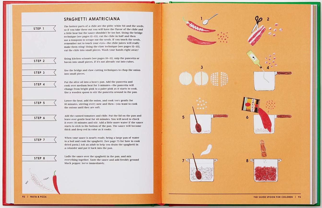 celebrate-picture-books-picture-book-review-the-silver-spoon-recipes-for-children-spaghetti