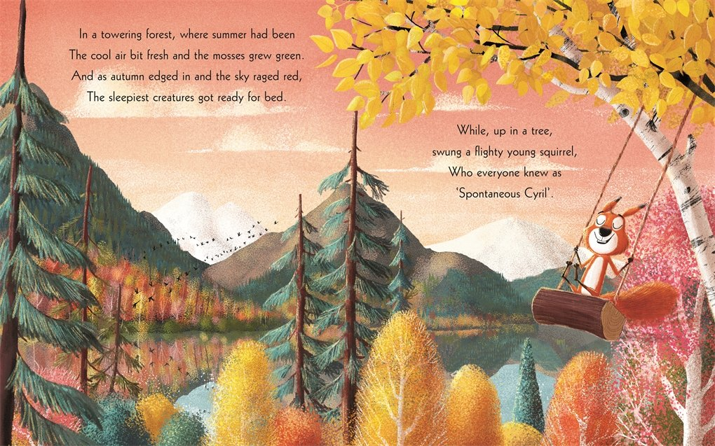 celebrate-picture-books-picture-book-review-the-squirrels-who-squabbled-swinging