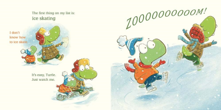 celebrate-picture-books-picture-book-review-croc-and-turtle-snow-fun-paper-skating