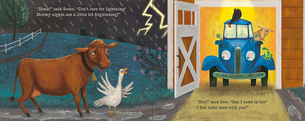 celebrate-picture-books-picture-book-review-good-night-little-blue-truck-goose