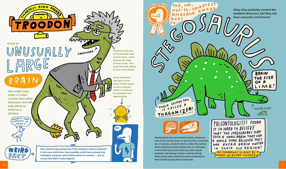 celebrate-picture-books-picture-book-review-everything-awesome-about-dinosaurs-troodon