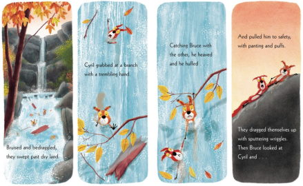celebrate-picture-books-picture-book-review-the-squirrels-who-squabbled-waterfall
