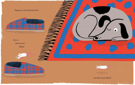 celebrate-picture-books-picture-book-review-one-shoe-two-shoes-knotted-dog-spies