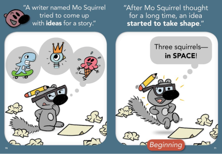 celebrate-picture-books-picture-book-review-who-is-the-mystery-squirrel-making-a-book