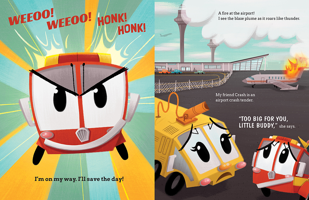 celebrate-picture-books-picture-book-review-flash-the-little-fire-engine-airport