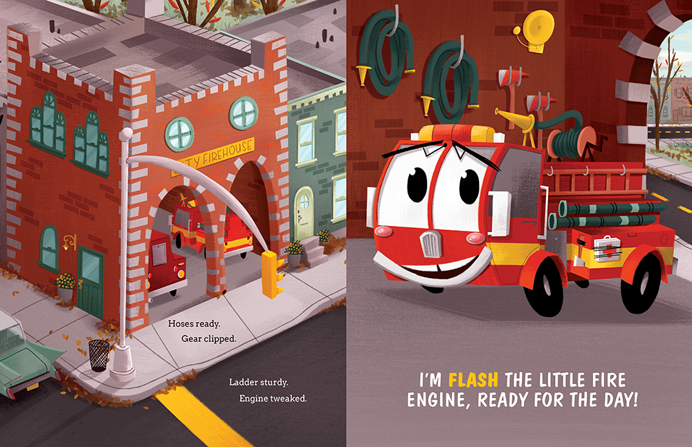 celebrate-picture-books-picture-book-review-flash-the-little-fire-engine-firehouse