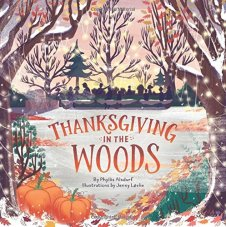 celebrate-picture-books-picture-book-review-thanksgiving-in-the-woods-cover
